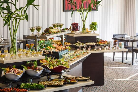 Buffet Restaurant at RAND by Wandalus in Riyadh