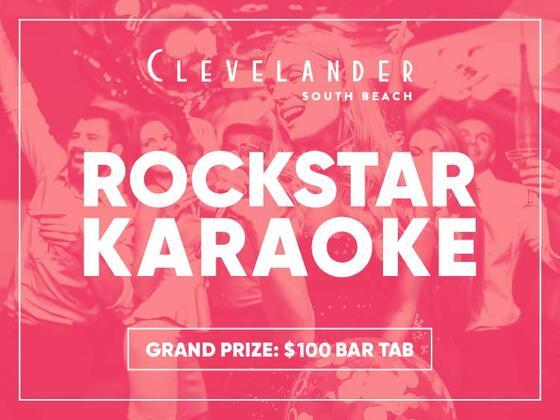 Rockstar Karaoke at Clevelander South Beach hotel