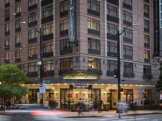 Exterior view of The Paramount Hotel Portland