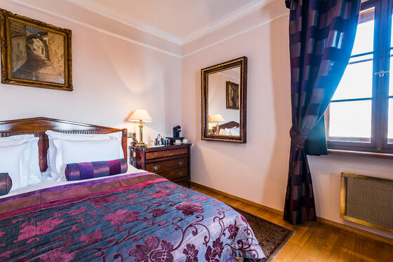 Deluxe Room at Golden Well Hotel in Prague