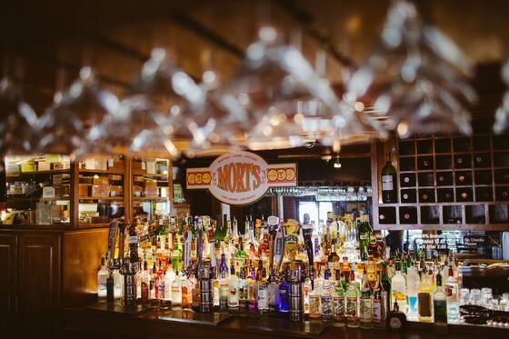 Morts Martini & Cigar Bar near Hotel at Old Town Wichita