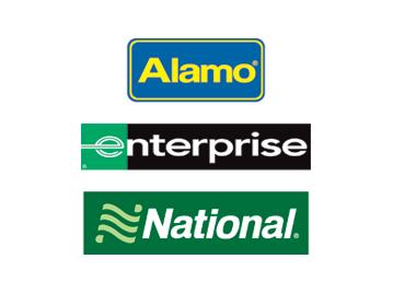 Rental car logos
