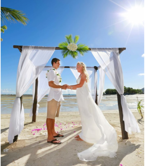 Beach Wedding Ceremony Venues | Musket Cove Island Resort And Ma
