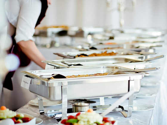 Food Catering Set Up