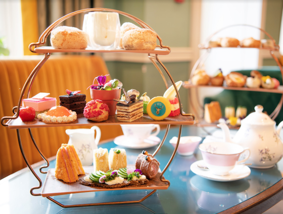 Afternoon Tea and pastries at Richmond Hill Hotel