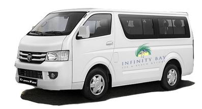 infinity bay van