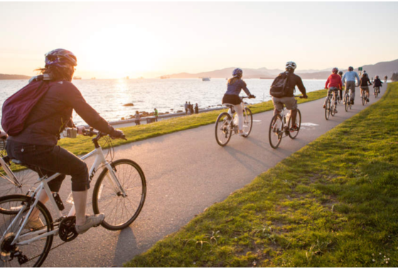 bike the seawall, seasonal rentals,