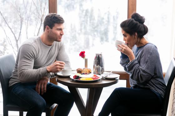 Stein Eriksen Lodge Breakfast Room Service