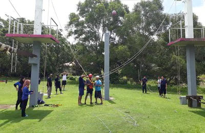 SWAT CAMP - High & Low Rope Course
