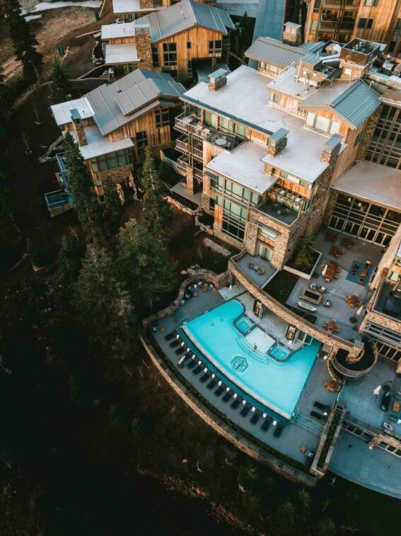 Stein Eriksen Residences Summer Exterior