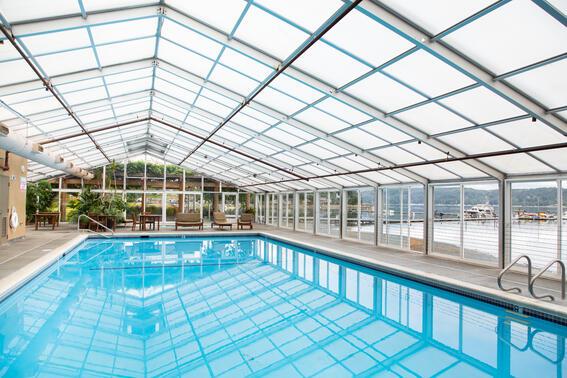 Pool at Alderbrook Resort & Spa