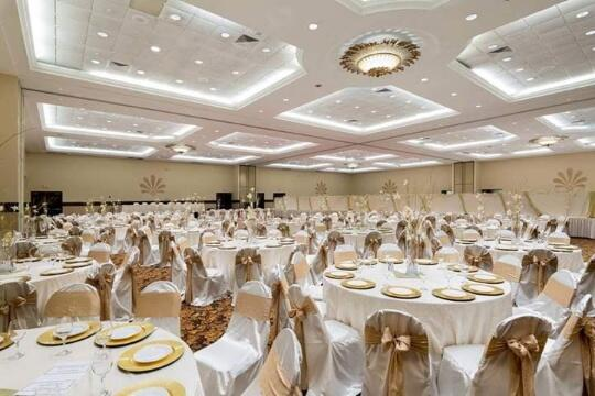 Event room at the Alexis Park Resort