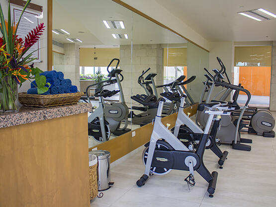 Gym center  at Sunset Plaza Beach Resort