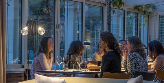 Evening talks-Hotel Portovenere