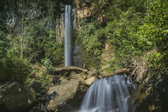 Falls near Buena Vista Del Rincon Eco Adventure Hotel And Spa