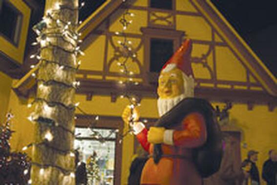 Holiday Celebration Candlewalk in Xmas at Marv Herzog Hotel