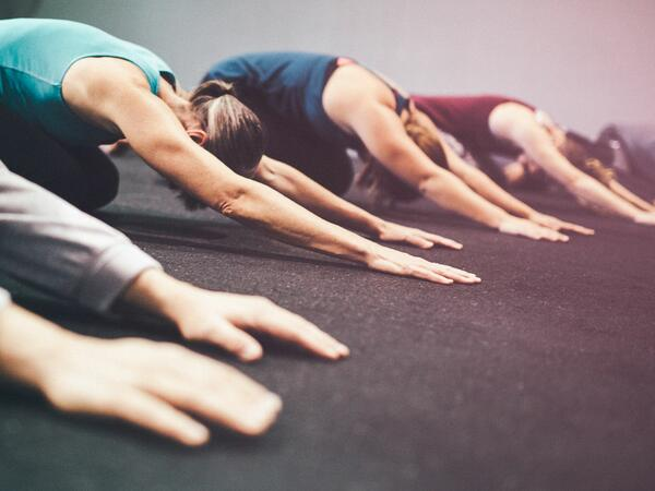 Yoga Group Stretch
