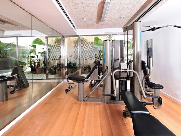 Gym at Aimia Hotel in Port de Sóller, Majorca