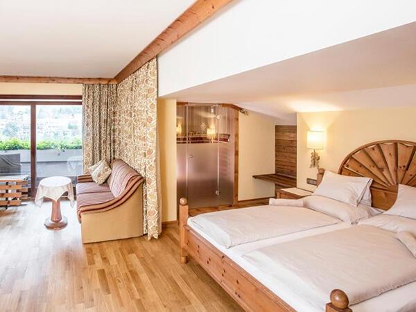 Luxury Vital Suite at Tiefenbrunner Hotel in Kitzbühel, Austria