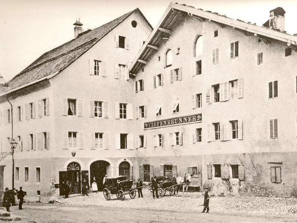 History of Tiefenbrunner Hotel in Kitzbühel, Austria