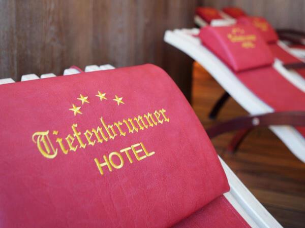 Spa detail at Tiefenbrunner Hotel in Kitzbühel, Austria