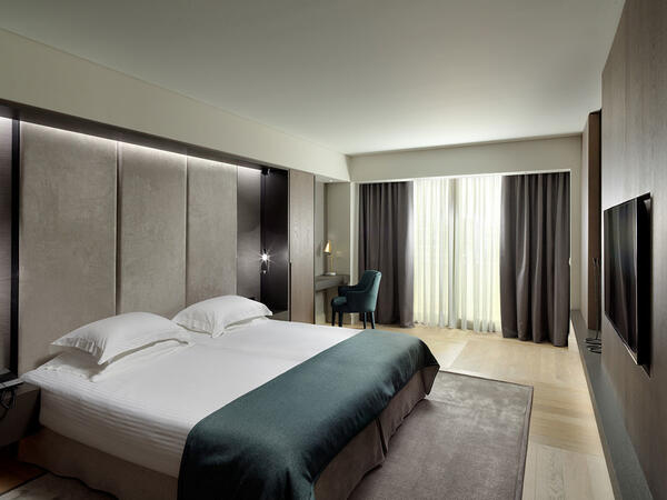 Double room at NJV Athens Plaza Hotel