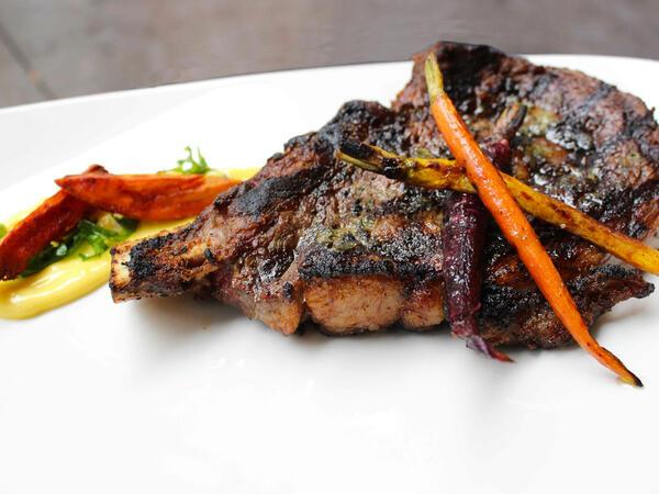 Sumptuous steak platter