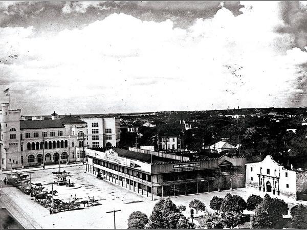 Vintage photo of San Antonio