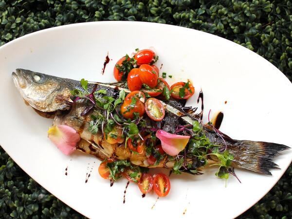 Fish platter from Adega
