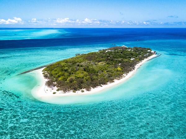 Heron Island Resort in Queensland, Australia