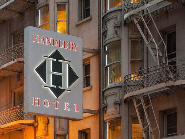 handlery sign