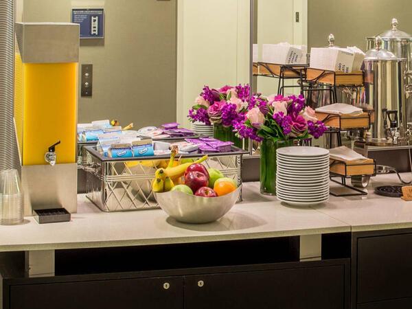Juice & Fruit on the Kinize Hotel Breakfast Buffet