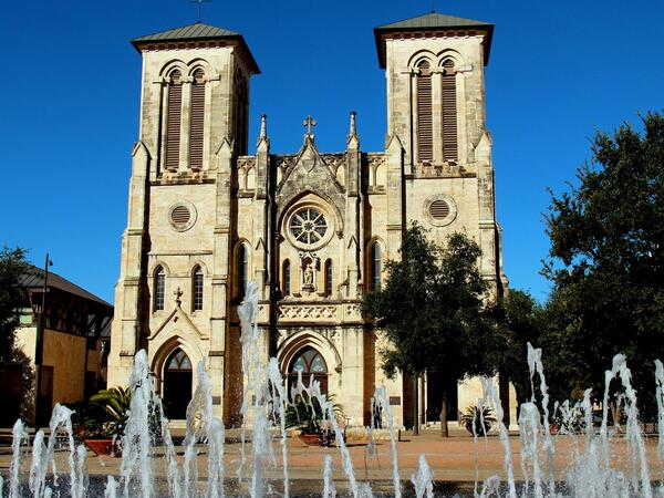 Exterior of San Fernando Cathedral