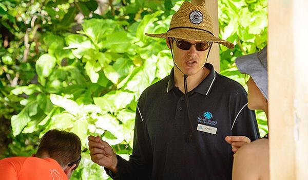Nature walks from Heron Island Resort in Queensland, Australia
