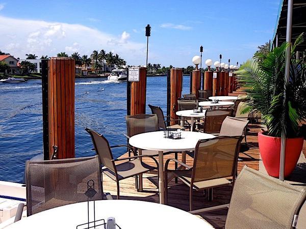 Waterfront Dining Pompano Restaurants Sands Harbor