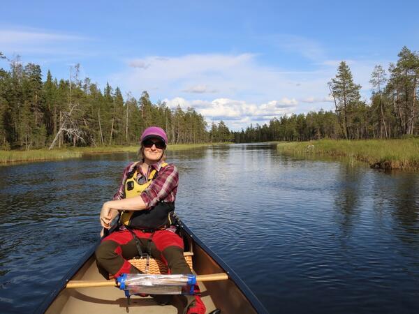 Summer activities near Northern Lights Village in Saariselkä, La
