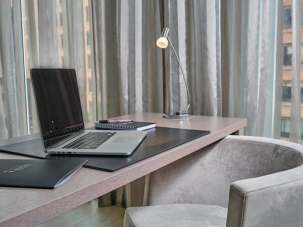 Emerald Suite Desk Area