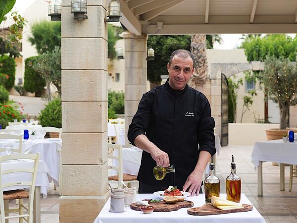 Cooking class at Cretan Malia Park