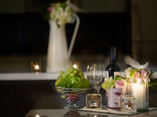 Romantic Hotel Set Up