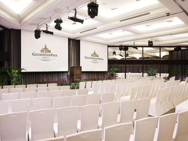 Windsor Ballroom Theatre Set Up at Goodwood Park Hotel Singapore