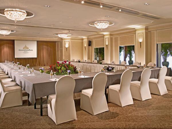 Tudor Ballroom at Goodwood Park Hotel Singapore