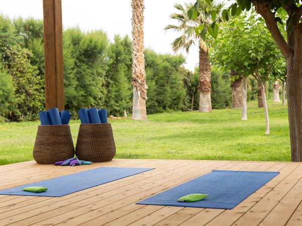 Yoga Area at Cretan Malia Park