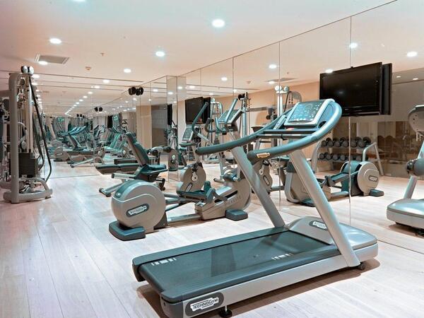 Gym at CVK Taksim Hotel in Istanbul