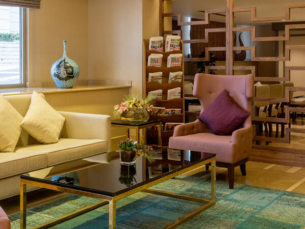 Livingroom at CVK Hotels & Resorts in Istanbul
