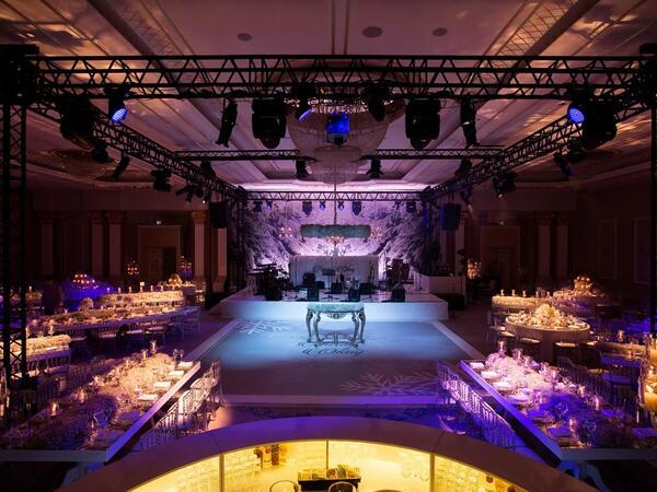 Ballroom at CVK Park Bosphorus Hotel Istanbul