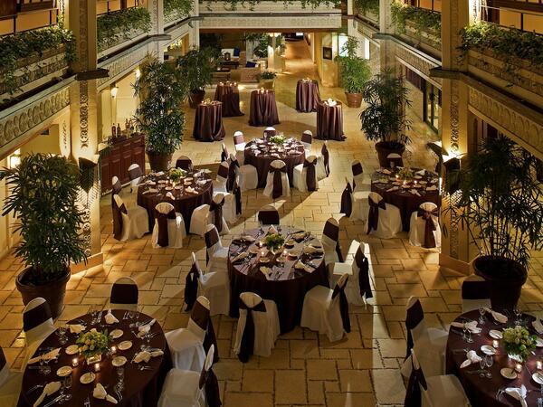 Terrace banquet