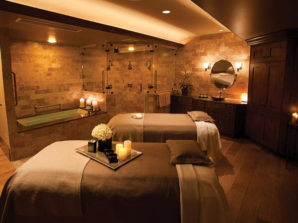 The Spa at Stein Eriksen Lodge Couple's Treatment Room