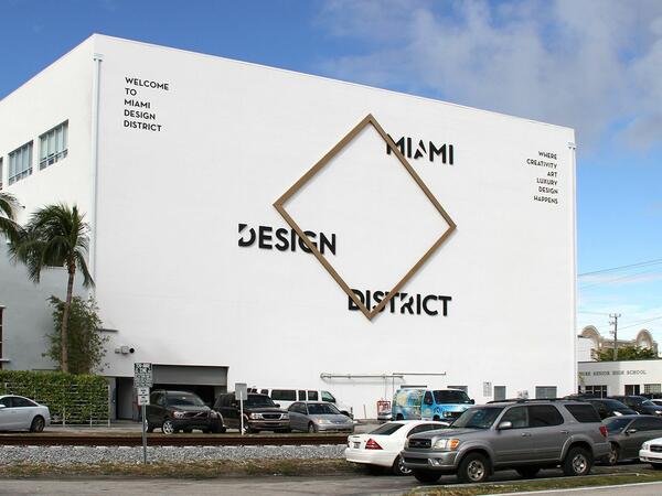 Miami Design District Signage