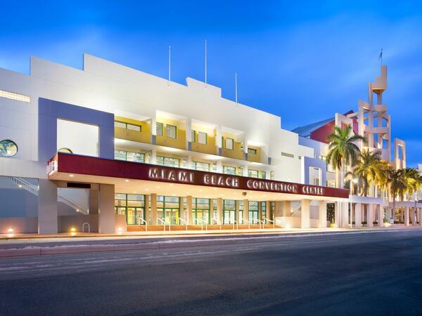 Miami Beach Convention Center Exterior