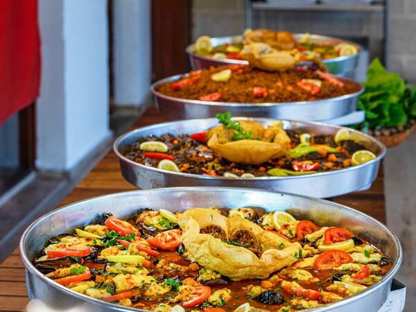 Selection Of Traditional Dishes